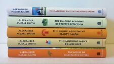 Lot 5 The NO. 1 Ladies' Detective Agency #12-15 18 (HC) Alexander McCall Smith