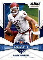 2018 Score Football NFL Draft Insert Singles (Pick Your Cards)