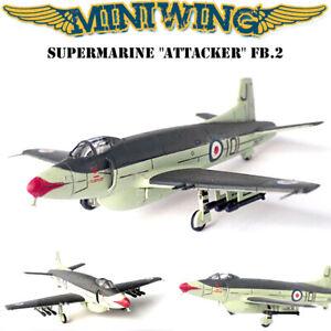 1/144 Miniwing Supermarine ATTACKER FB.2 British RAF/Pakistani - Resin Model Kit