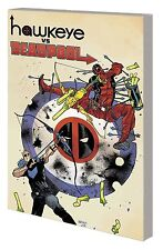HAWKEYE vs DEADPOOL TPB Gerry Duggan Marvel Comics Collecting #0-4 TP