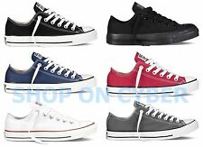 Converse All Star Chuck Taylor Canvas Shoes Low Top Brand New All Size