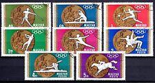 Hungary - 1969 Olympic medals Mexico Mi. 2477-84 VFU