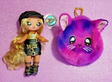 Na Na Na Surprise Series 3 Sasha Scratch 2 in 1 Fashion Doll & Purse New!