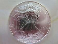 1996 Uncirculated American Silver Eagle 1 troy oz  fine silver