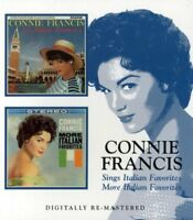 Connie Francis - Sings Italian Favorites/More Italian Favorites (2006)  CD  NEW