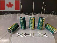 Original Xbox V1.6 Capacitor Kit| 5pc 3300uF 6.3V SANYO Low ESR |Canadian Seller