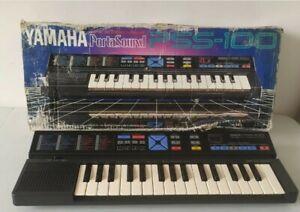 Vintage Yamaha Portasound PSS-100 Digital Recording Keyboard WORKING No Adapter