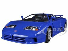 BUGATTI EB 110 BLUE 1/24 DIECAST MODEL CAR BY BBURAGO 22025