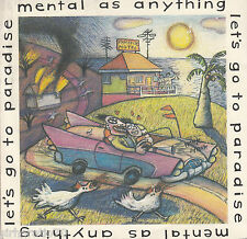 MENTAL AS ANYTHING Let's Go To Paradise / My Hands Are Tied OZ 45