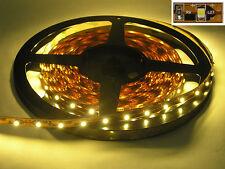 5 Meter LED Lichtband Lichterkette flexibel teilbar 300 LEDs WARM WEIß + TRAFO