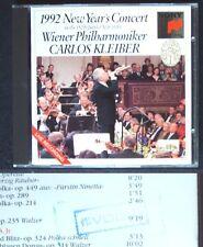 New Year's Concert from Vienna 1992 Carlos KLEIBER CD Neujahrskonzert aus Wien