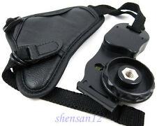 Leather Hand Wrist Grip Strap For Nikon D90 D7000 D3100 D3200 D5200 D5100 D800
