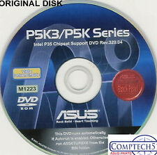 ASUS GENUINE VINTAGE ORIGINAL DISK FOR P5K PREMIUM Motherboard Disk M1223