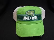 LIME-A-RITA BUDWEISER BUD LIGHT ANHEUSER BUSCH BEER TRUCKER SUMMER  HAT CAP