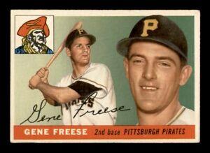 1955 Topps Set Break # 205 Gene Freese VG-EX *OBGcards*