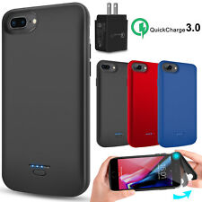 For iPhone 6/6s/7/8 Plus Battery Case External Backup Power Bank / QC3.0 Charger