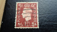 Großbritannien, Postage Revenue, 1937, 1 1/2D, König Georg VI, gestempelt