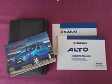 SUZUKI ALTO (2003 - 2006) OWNERS MANUAL - OWNERS GUIDE - HANDBOOK (SEJL 557)