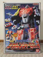 Power Rangers SPD Deluxe DELTA SQUAD Megazord DEKARANGER ROBO Bandai b