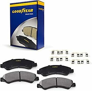 Goodyear Brakes GYD1159 Ceramic Front Disc Brake Pads for Buick, Cadillac, Chevy