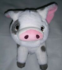 "Disney Plush Moana Pig Stuffed Animal Toy Small 10"" Euc"
