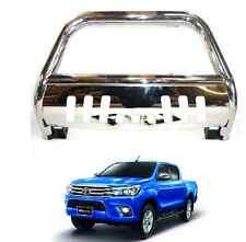 Toyota Hilux Revo 2016 Front Chrome High Bull Bar Nuge Bar Chrome Axle Nudge