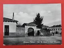 CHIOPRIS Via Sauro Casa Brunner Udine vecchia cartolina