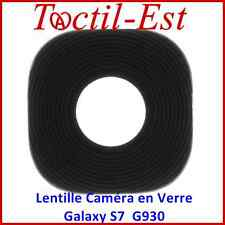 Lentille Caméra en Verre Noir pour Samsung Galaxy S7 Sm-g930