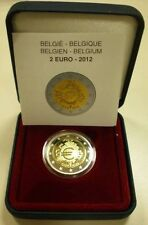 Belgium / Belgien 2012 - 2 Euro Anniversary of Introduction of Euro Coins proof