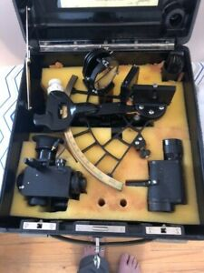 C.PLATH MICROMETER SEXTANT March 6th 1969 excellent condition