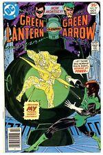 GREEN LANTERN Vol.2 #97(10/77)GREEN ARROW/BLACK CANARY(MIKE GRELL)CGC IT(8.5)VF+