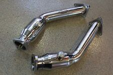 Beluga Racing Performance Exhaust Resonated Test Pipes For Nissan 370Z FX37 370Z