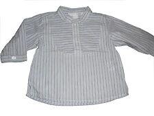H & M tolles Hemd Gr. 68 blau gestreift !!