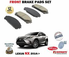 FOR LEXUS NX 200T 300H HYBRID 2014 > NEW FRONT BRAKE DISC PADS SET