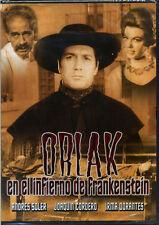 Orlak El Infierno de Frankenstein *NEW DVD * Factory Sealed * 1960 Pelicula
