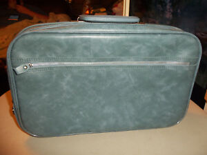 """vintage Peter's Bag Corp Travel Softside Suitcase - Zippered 16"""" x 10"""" x 4"""""""