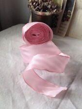 VINTAGE cablata NASTRO NASTRO Rosa Pastello 400cm modisteria Bouquet & ARREDAMENTO nn.