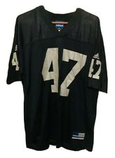 Tyrone Wheatley Oakland Raiders Adidas NFL Black Football Jersey Men's Large