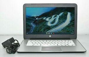 HP Chromebook 14-SMB Celeron 2955U 1.40GHz 4GB RAM 16GB SSD HDMI Webcam - Black