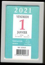 CALENDRIER - Bloc Ephéméride Neutre à Effeuiller 2021