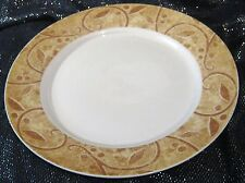 3x Churchill Ports of Call Jeff Banks Charleston Dinner plates 10¼ ins wide