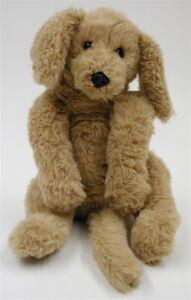 Vintage 1985 Gund Muttsy Plush LARGE Dog Suede Paws Golden Retriever Puppy Mutsy