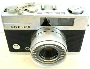 **1960`s KONICA EE MATIC S 35mm RANGEFINDER FILM CAMERA VERY GOOD CONDITION**