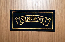 CLASSIC VINCENT EMBROIDERED MOTORCYCLE PATCH