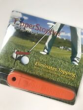 Golf Topper Stopper Golf Aid, Swing Aid New Factory Sealed