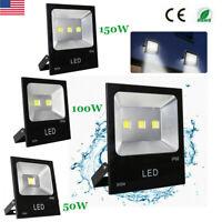 LED Flood Light Outdoor Waterproof IP65 Ultra Bright 6000K Commercial Spotlight