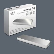 Vantec NexStar SX M.2 SATA SSD to USB 3.1 Gen 2 Type C Enclosure