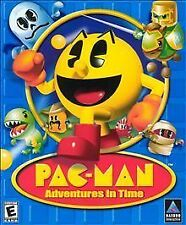 New Pac Man Adventures in Time PC Game CD ROM  Windows 95/98