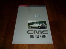 Honda Civic Shuttle 4WD Prospekt