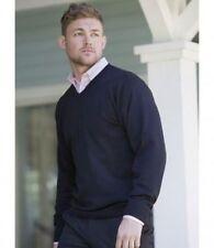 Cotton Blend V Neck Plain Regular Hoodies & Sweats for Men